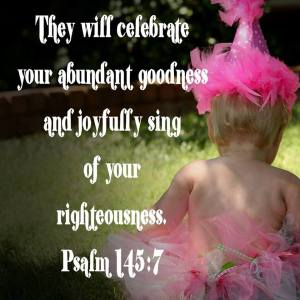 Psalm 145:7